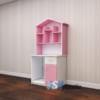 Mẫu bàn học nhựa cao cấp SHplastic BH08 màu hồng trắng dành cho bé