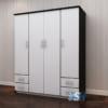 Tủ nhựa quần áo người lớn 4 cánh 4 ngăn kéo / SHplastic TL15