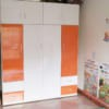 Tủ nhựa người lớn 4 cánh 4 ngăn kéo Vàng Cam / SHplastic TL17