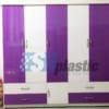 Tủ nhựa quần áo người lớn 5 cánh 4 ngăn / SHplastic TL20