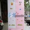 Tủ nhựa quần áo người lớn 2 cánh 1 ngăn kéo / SHplastic TL01