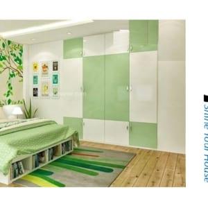 Bộ nội thất nhựa phòng ngủ người lớn SHplastic NT03