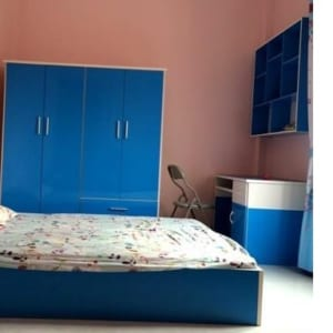 Bộ nội thất nhựa phòng ngủ người lớn SHplastic NT05