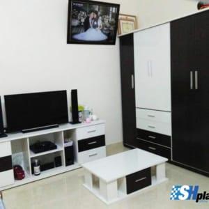 Bộ nội thất nhựa phòng ngủ người lớn SHplastic NT10