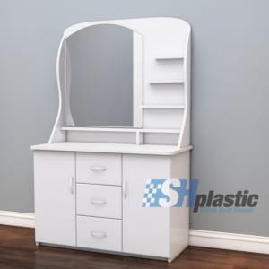 Mẫu bàn trang điểm bằng nhựa đài loan cao cấp Elegance SHPlastic TD02