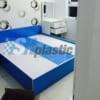 Mẫu giường ngủ nhựa đôi Người lớn cao cấp / SHplastic GN03