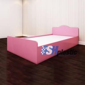 Mẫu giường ngủ nhựa đơn Trẻ Em cao cấp / SHplastic GN02