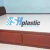 Mẫu giường ngủ nhựa đôi Người lớn cao cấp / SHplastic GN06