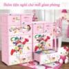 Tủ quần áo nhựa Duy Tân Mina-L / Mẫu 5 tầng 6 ngăn cho bé
