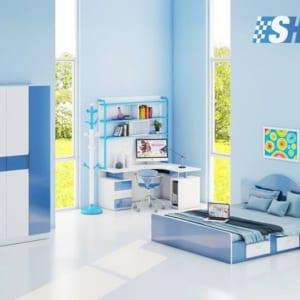 Bộ nội thất nhựa phòng ngủ Người lớn / SHplastic BNT14