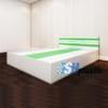 Mẫu giường ngủ nhựa đôi Người lớn cao cấp / SHplastic G07