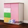 Tủ nhựa Trẻ Em Đài Loan 1 cánh 4 ngăn kéo : SHplastic TN14