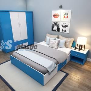 Bộ mẫu thiết kế nội thất nhựa phòng ngủ Người lớn / SHplastic NTL03