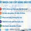 Shplastic cam kết 100% sản phẩm chính hãng nhựa Đài Loan Chinhuie