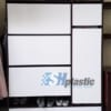 Mẫu tủ giày nhựa thông minh cánh lật đa năng / SHplastic TG17