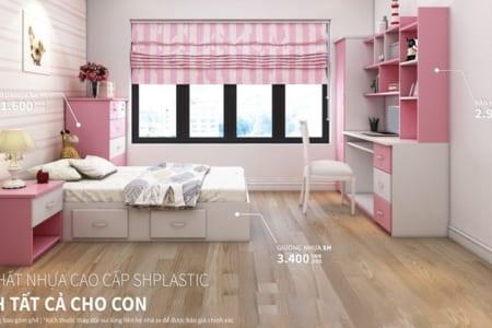 Kích thước giường ngủ nhựa cho Trẻ Em thế nào là phù hợp nhất?;