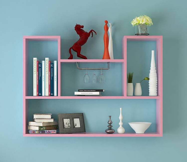 Kệ nhựa treo tường giá rẻ phù hợp mọi không gian sinh hoạt