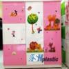 Mẫu tủ nhựa Trẻ Em Đài Loan 5 cánh mở / SHplastic TN27