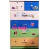 Mẫu tủ nhựa Trẻ Em 5 tầng 6 ngăn kéo / SHplastic TN31