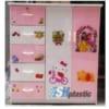 Mẫu tủ nhựa Trẻ Em 2 cánh 5 ngăn kéo / SHplastic TN19