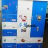 Mẫu tủ nhựa Trẻ Em đa năng 3 cánh 7 ngăn kéo / SHplastic TN26