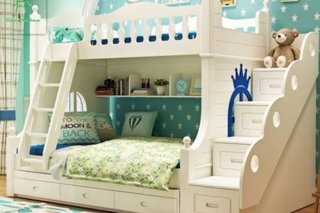 Kinh nghiệm chọn mua giường tầng nhựa trẻ em;