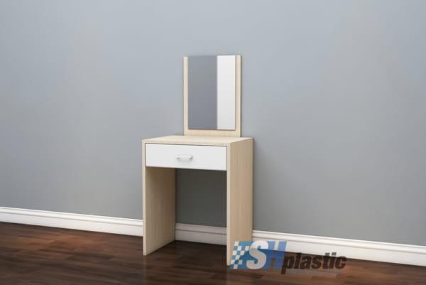 Mẫu bàn trang điểm nhựa Đài Loan / Simple SHPlastic TD04
