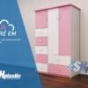 Mẫu tủ nhựa đài loan cao cấp cho bé