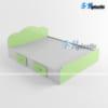 Giường ngủ đôi nhựa Đài Loan cao cấp / SHPlastic GN14