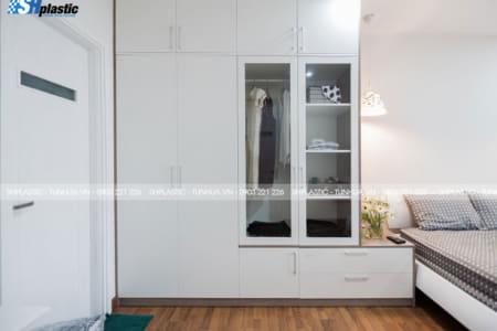 Phòng nhỏ hẹp, tham khảo ngay 6 mẫu tủ quần áo nhựa Đài Loan thông minh này;