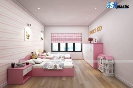 5 lưu ý khi thiết kế nội thất phòng ngủ cho bé;